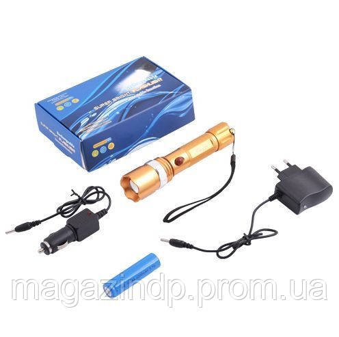 Фонарь  Bl-8626c-xpe  (аккумулятор, 2 зарядки, упаковка) Код:475254091