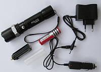 Фонарь  BL-8626S XPE (аккумулятор, 2 зарядки, упаковка) Код:475254092, фото 1