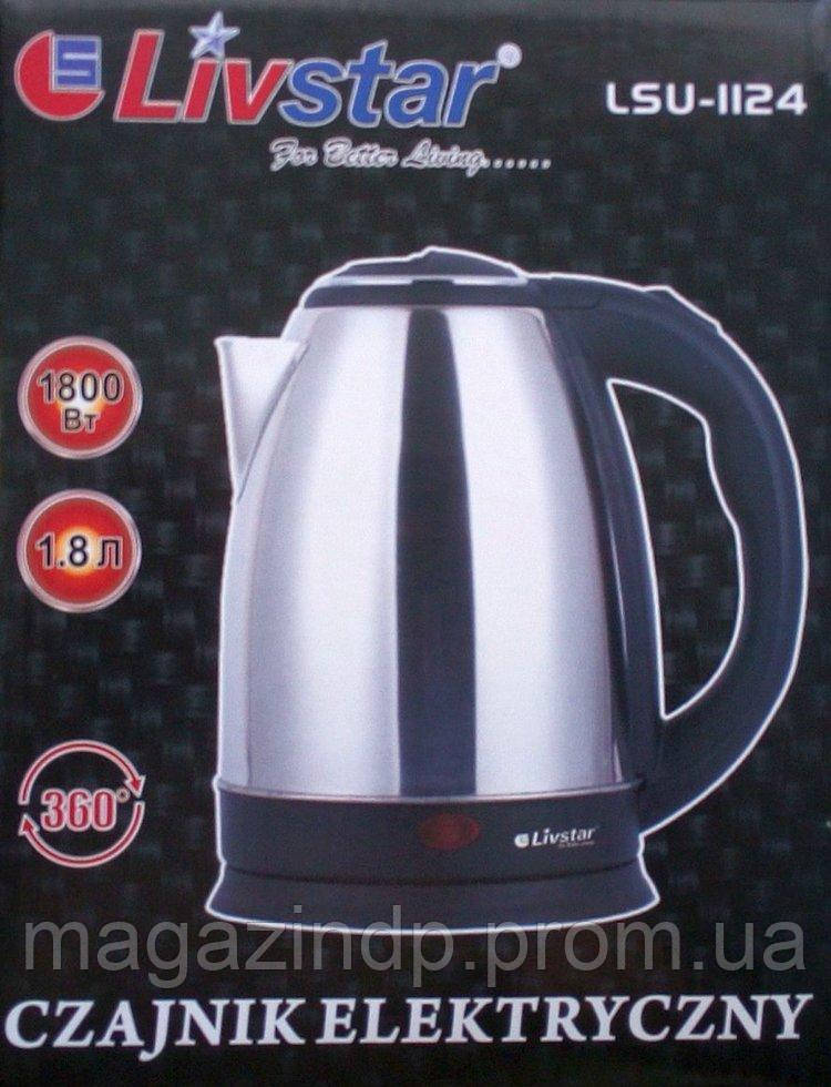 Электрический чайник  Lsu-1124, 1800Вт Код:475254194