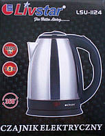 Электрический чайник  Lsu-1124, 1800Вт Код:475254194, фото 1
