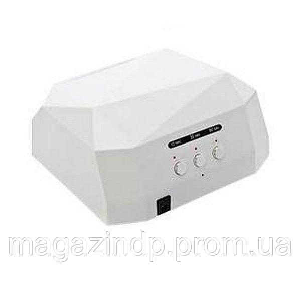 Гибридная сенсорная лампа Diamond Led+Cl для маникюра 36Вт, white Код:513902911
