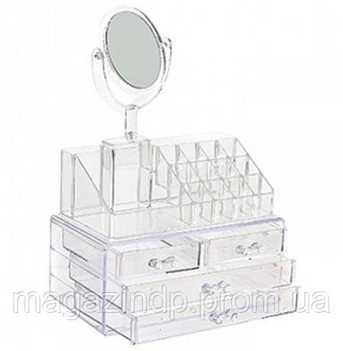 Cosmetic storage , органайзер для косметики с зеркалом Код:868045409