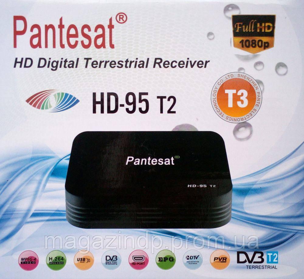 Цифровой тюнер ресивер Pes Hd-95 t2 Код:752719961