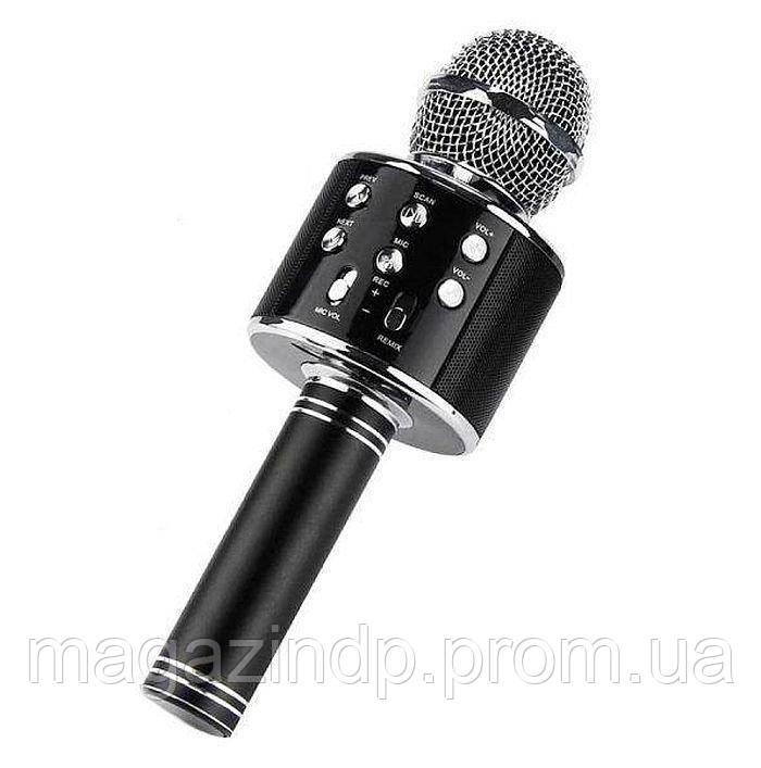 Беспроводной микрофон караоке Ws-858, black Код:964519090