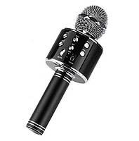 Беспроводной микрофон караоке Ws-858, black Код:964519090, фото 1