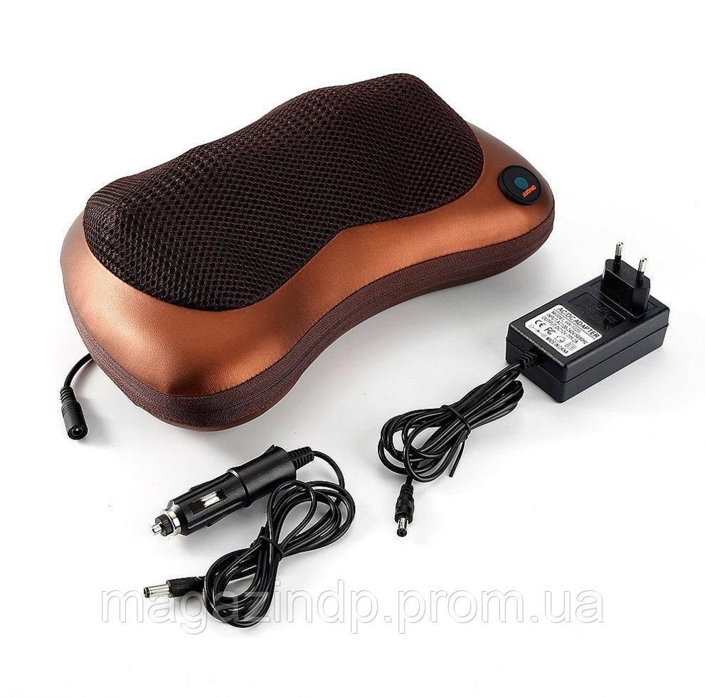 Массажная подушка для дома и автомобиля Massage pillow for me and car Код:970960539
