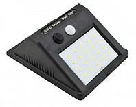 Уличный фонарь с датчиком движения на солнечной батарее 609-20, black Код:973547053, фото 1