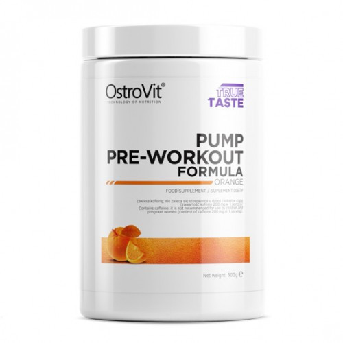 Предтренировочный комплекс OstroVit Pump Pre-Workout Orange (500 g)