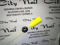 """Гель лак желтый """"CityNail"""" №1045"""