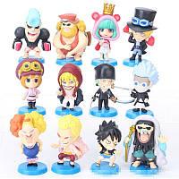 Фигурки героев фильма One Piece 12 штук