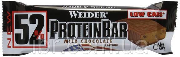 Протеиновый батончик Weider 52% Protein bar 50 g Milk Chocolate