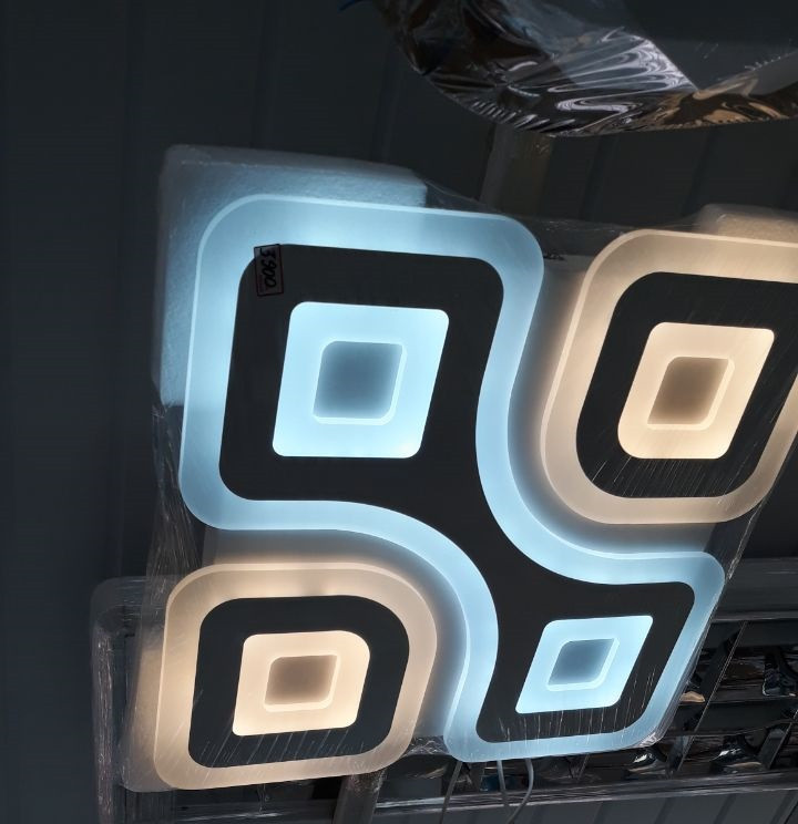 LED светильник SMART Люстра MOSAIC 120W 50х50 см