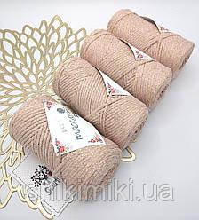 Трикотажный шнур с люрексом Star, цвет Пудра