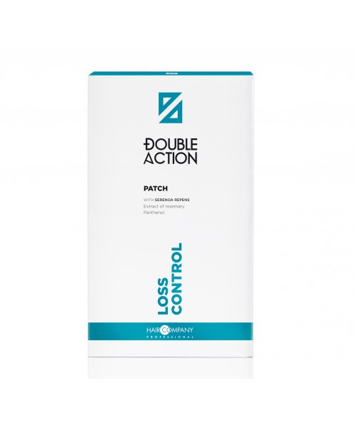 Комплект пластырей против выпадения волос Hair Company Double Actionan, 3x10 мл