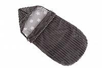 Конверт в коляску, для выписки Twins Trip dark grey темно серый до 6 мес (конверт твинс трип)