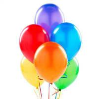 Шары Воздушные Разноцветные 1 шт АССОРТИ МИКС 12Д (БЕЗ ВЫБОРА ЦВЕТА) Латексные Шарики Надувные