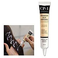 Восстанавливающая сыворотка для волос с протеинами шелка Esthetic House CP-1 Premium Silk Ampoule (20 мл)