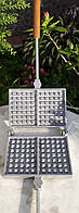 Форма для выпечки Венских вафель алюминиевая