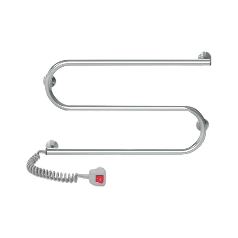 Электрический полотенцесушитель Q-tap Snake (CRM) 600x330 LE