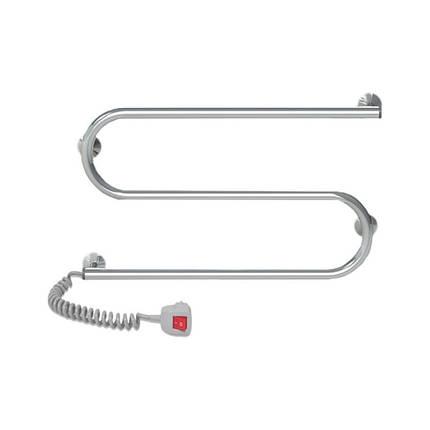 Электрический полотенцесушитель Q-tap Snake (CRM) 600x330 LE, фото 2