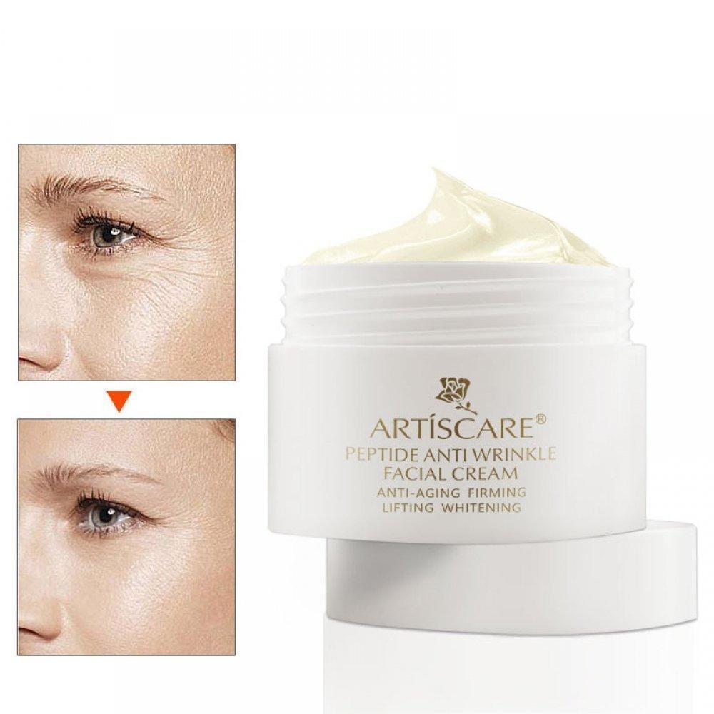 Пептидный крем для лица  против морщин с лифтинг-эффектом + питание и увлажнение Artiscare Peptide  Cream 30ml