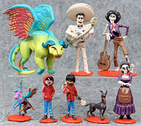 Фигурки героев фильма Коко  COCO Cartoon Movie 9 штук