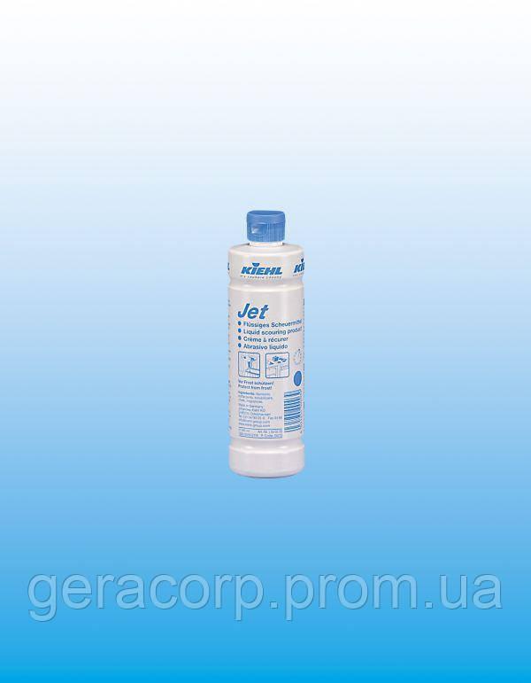 Жидкое чистящее средство с твёрдыми включениями Jet