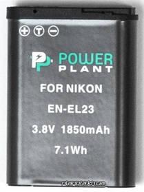 Аккумулятор для фото и видео PowerPlant Nikon EN-EL23 (DV00DV1396)