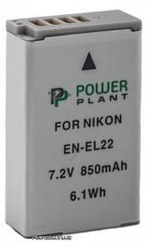 Аккумулятор для фото и видео PowerPlant Nikon EN-EL22 (DV00DV1399)