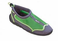 Аквашузи для серфінгу, коралів та плавання BECO 90661 118 сіро/зелений, 40