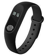 Фитнес браслет Smart Mi Band 2 Black  M 2 Умные часы Черные
