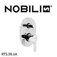 Смеситель для ванной внутренний Nobile ABC AB87100CR