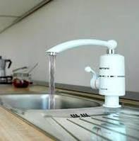 Бойлер кран без экрана Мгновенный проточный водонагреватель бойлер