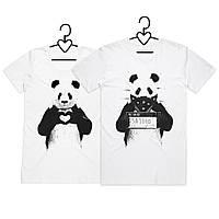 Футболки Парные Panda