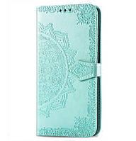 Чехол-книжка Art Case с визитницей для Xiaomi Redmi Note 5 Pro / Note 5 (AI Dual Camera) Green