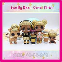 Семья Кукла LOL Surprise Family Bee - Мальчик Пчела Старшая сестричка Малышка Питомец Лол Сюрприз, фото 1