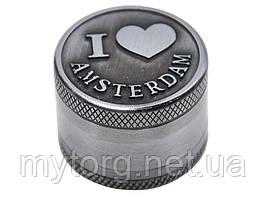 Измельчитель табака Amsterdam I LOVE AMSTERDAM