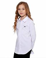 Школьная рубашка для девочки Lukas 9243, цвет белый