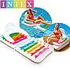 Надувной матрас-кресло Intex, 198х94 см., фото 2