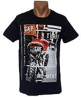 Мужская модная футболка - №5339