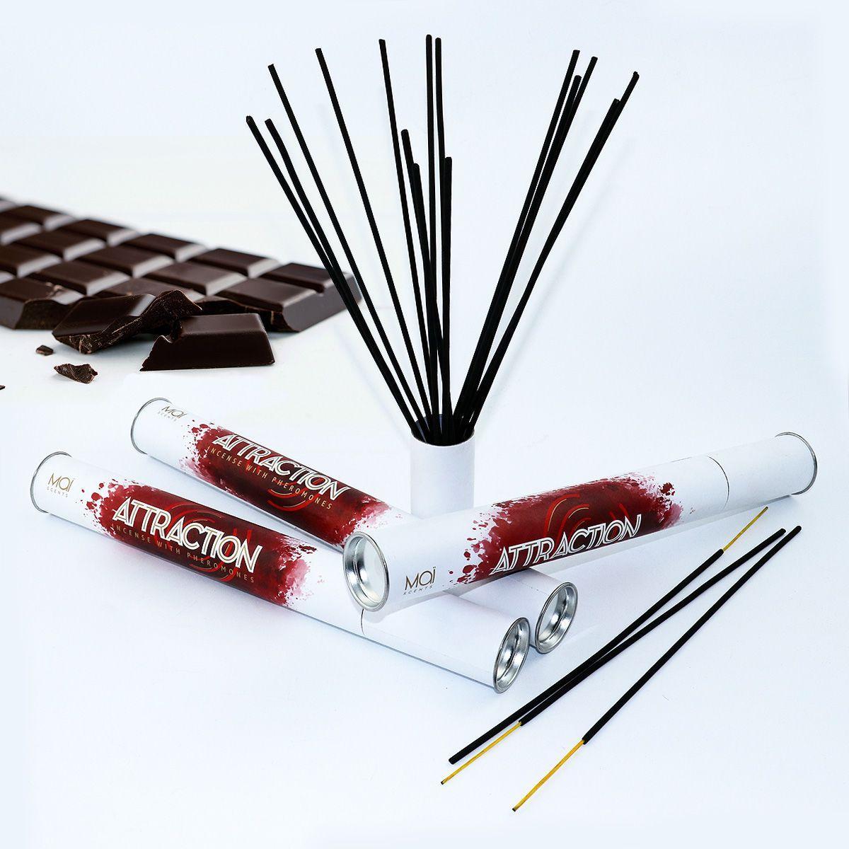 Ароматичні палички з феромонами MAI Chocolate (20 шт) tube