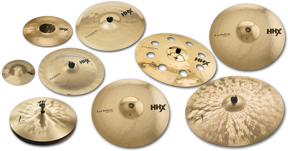 Набор тарелок SABIAN Dave Weckl HHX Evolution Legacy Complete Set