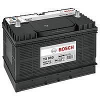 Аккумулятор грузовой Bosch T3 (T3 050): 105 Ач, 12 В, 800 А - (0092T30500), 330x172x240 мм