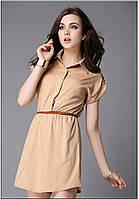 Стильное шифоновое платье, фото 1