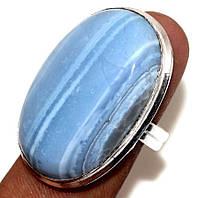 """Кольцо с  голубым опалом """"Небосвод"""", размер 19.4 от студии LadyStyle.Biz, фото 1"""