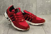 Мужские кроссовки в стиле Adidas Equipment, замша, сетка, пена, красные 43 (27,5 см)