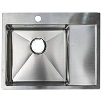 Кухонная мойка стальная Asil Hand Made AS 3069-R Light Brushed нержавеющая сталь