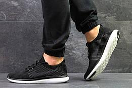 Мужские кроссовки в стиле Nike Flyknit Black, черные 44 (27,7 см)