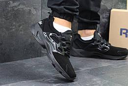 Мужские кроссовки в стиле Reebok Fury Black, черные 42 (26,5 см)