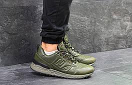 Мужские кроссовки в стиле New Balance Trailbuster Green, зеленые 45 (28,7 см)